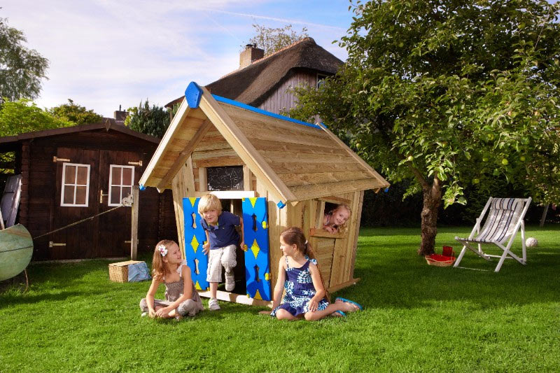 Преимущества детского игрового домика