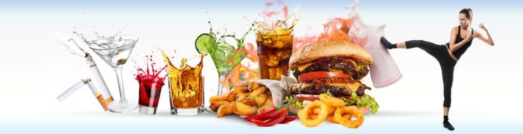 Основные вредные привычки, связанные со здоровьем, повышающие риск заболевания