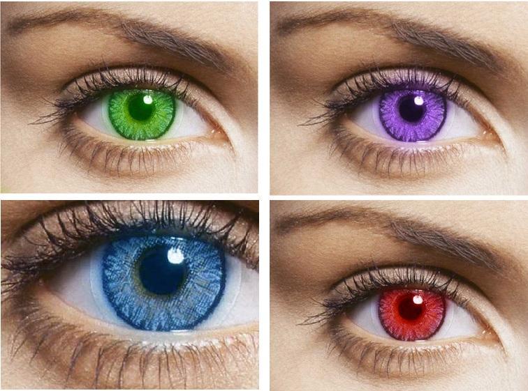 Преимущества и недостатки различных типов цветных контактных линз для глаз