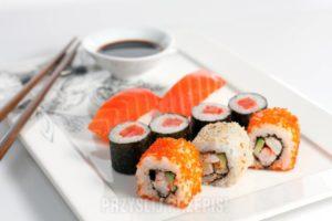 Какие самые популярные виды суши
