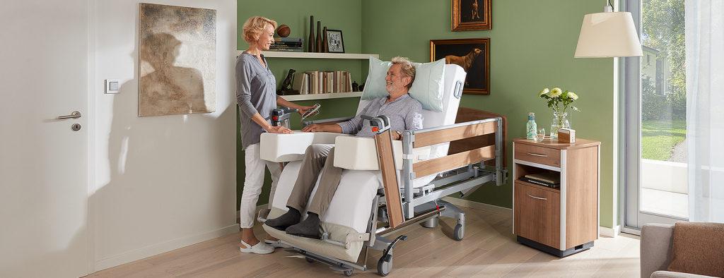 Реабилитационная кровать – как создать наилучшие условия для пациента и его опекунов