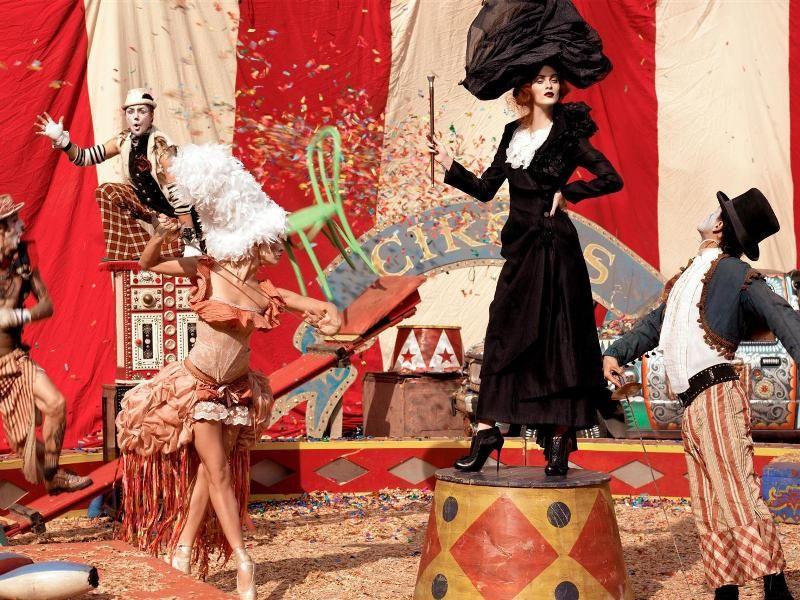 Цирковая тематическая вечеринка